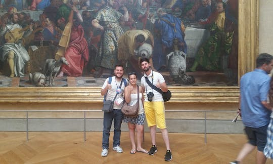Tour privado da arte italiana no Museu do Louvre