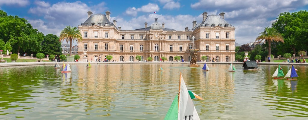 Walking tour from Notre Dame de Paris to the Luxembourg garden