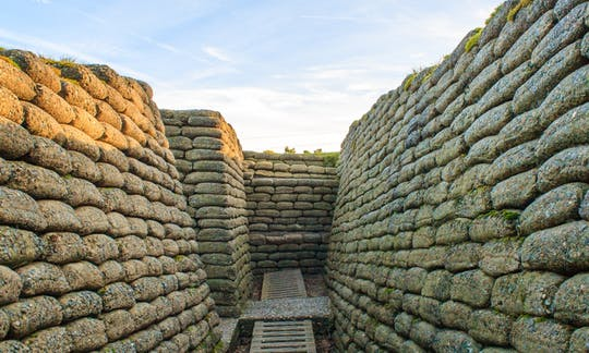 Excursion depuis Paris aux sites de la Première Guerre mondiale à Arras et Vimy
