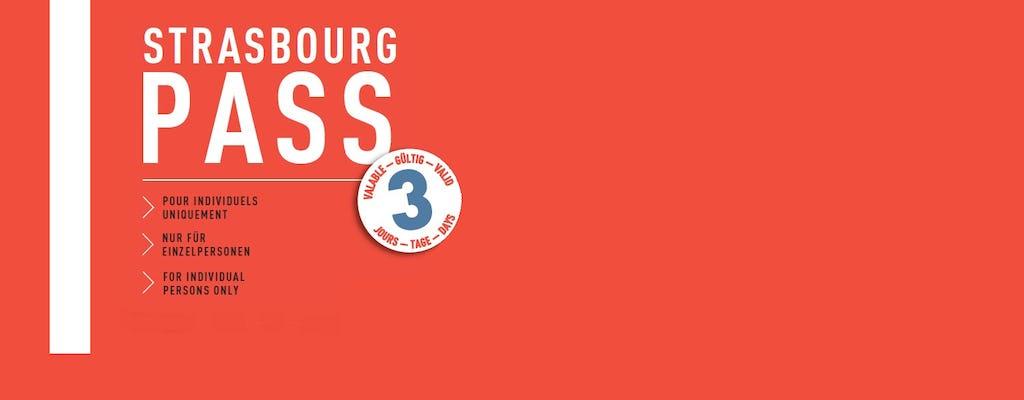 Город Страсбург Пройти