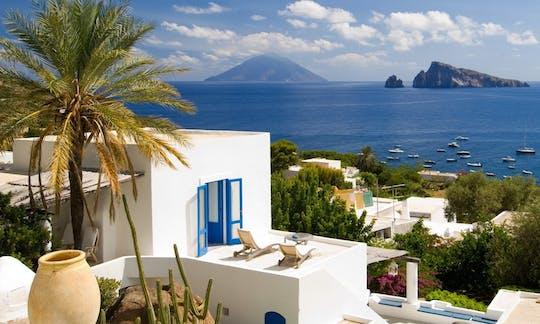 Mini-rejs Panarea i Stromboli z Taorminy