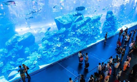 Biglietti per l'Acquario di Dubai e Zoo Sottomarino