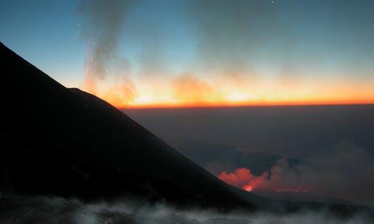 Etna wycieczka z przewodnikiem z Taorminy