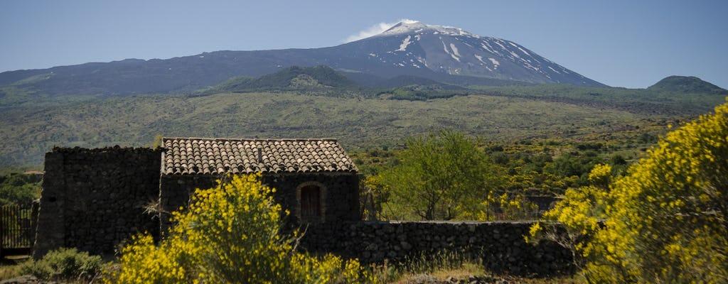 Randonnée guidée de l'Etna et Randazzo - Valle d'Alcantara depuis Taormina