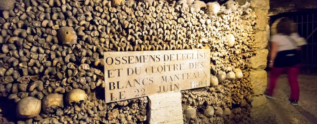 Catacombs guided tour with skip-the-line ticket and access to restricted areas