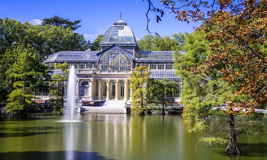 Retiro Park private tour with local guide