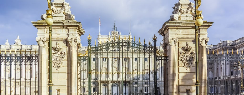 Visita privada al Palacio Real de Madrid