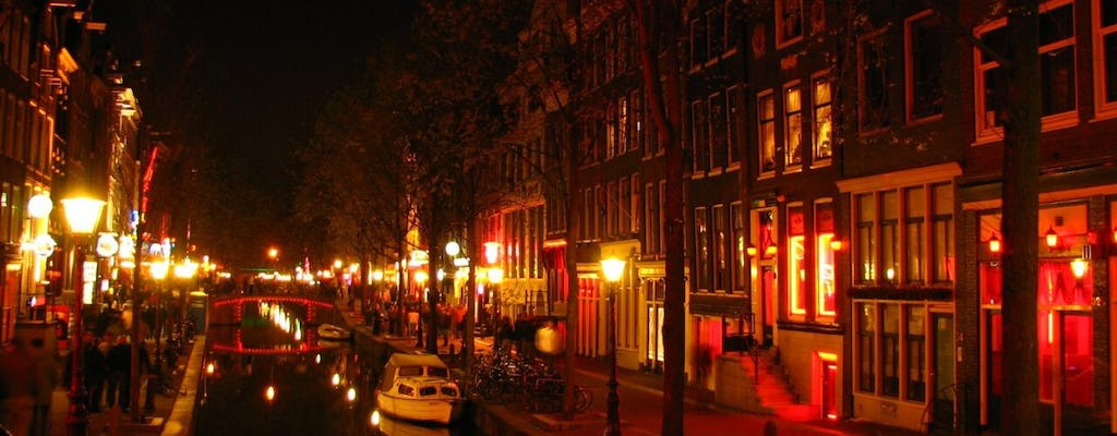 Red Light District private tour with a local