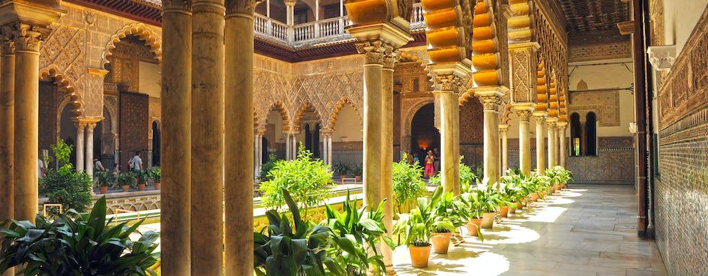 Bilet wstępu bez kolejki i zwiedzanie pałacu Alkazar w Sewilli
