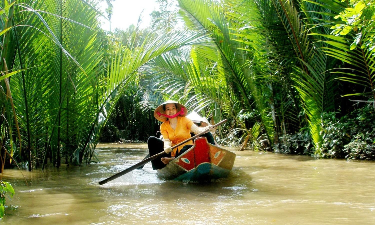 Boat trip on the Mekong Delta
