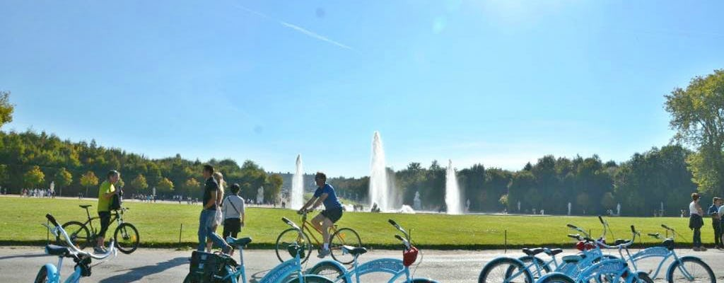Bike tour of Versailles Palace with skip-the-line tickets