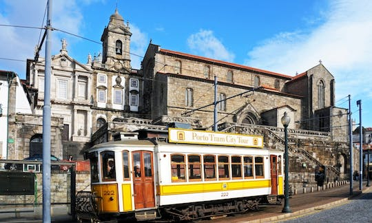 Porto premium 3 in 1: panoramic bus, tram and funicular tour