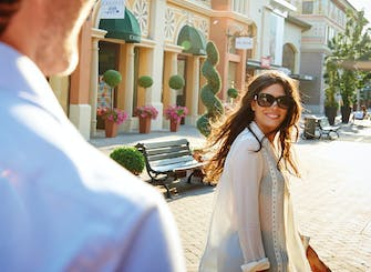 Shopping day experience at Fidenza Village for two