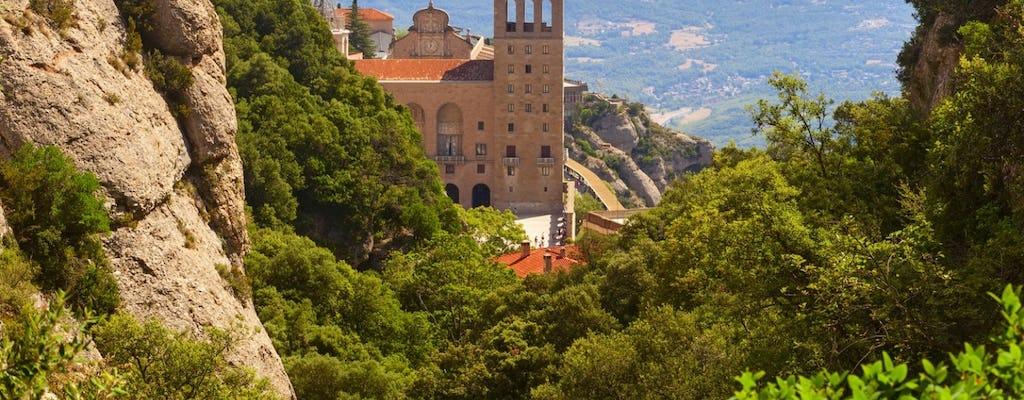 Visite guidée de Montserrat depuis Barcelone avec dégustation de vin et de tapas