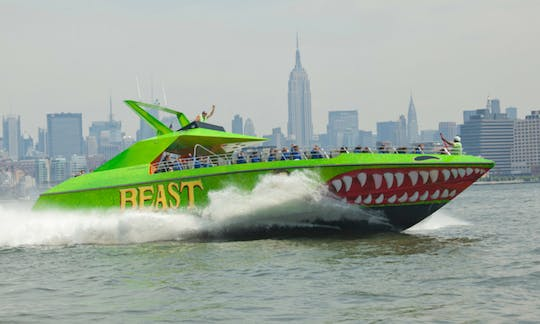 The BEAST speedboat ride