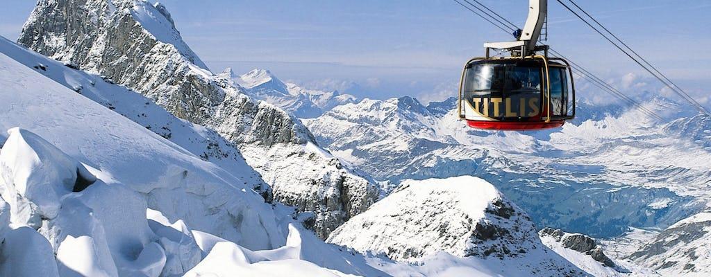 Monte Titlis e excursão geleira de Zurique