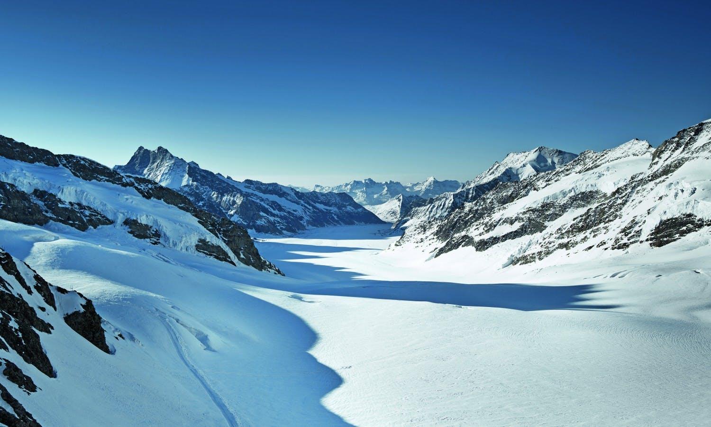 Ver la ciudad,Excursión a Jungfraujoch