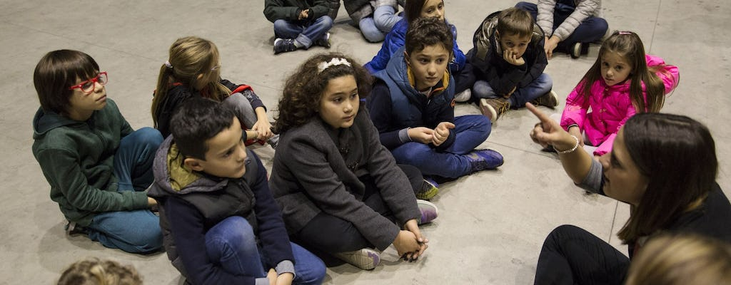 Creative sessions in Pirelli HangarBicocca: Every tower tells a story (6-8 years)