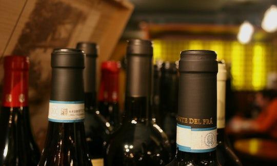 Wine tasting in Venice