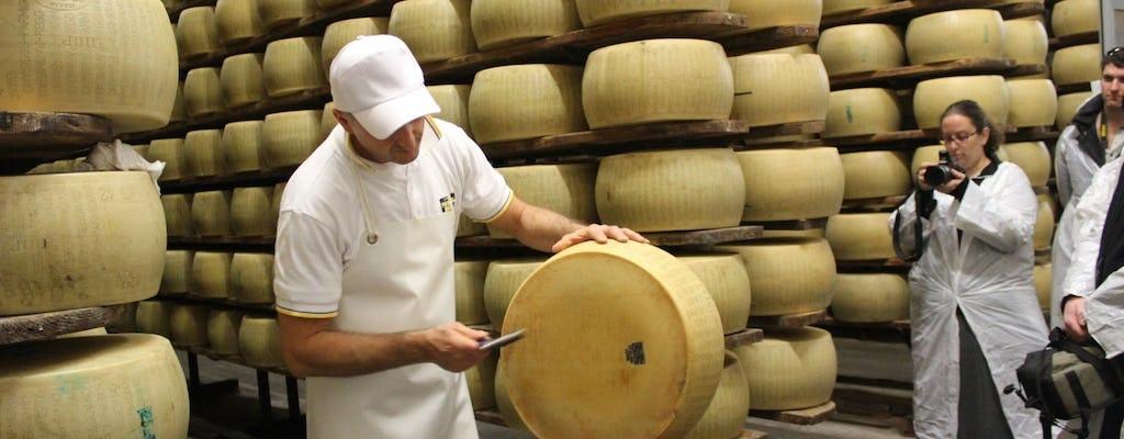 Tour degustação de queijo Parmigiano Reggiano em Parma