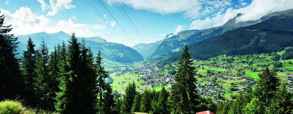 Kleine Scheidegg excursion in the center of the Alps