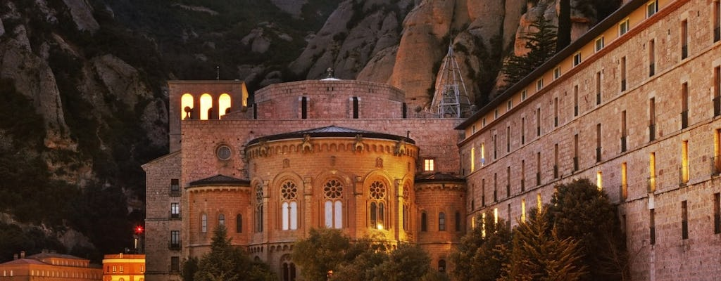 Magical night in Montserrat with transport from Barcelona and hotel