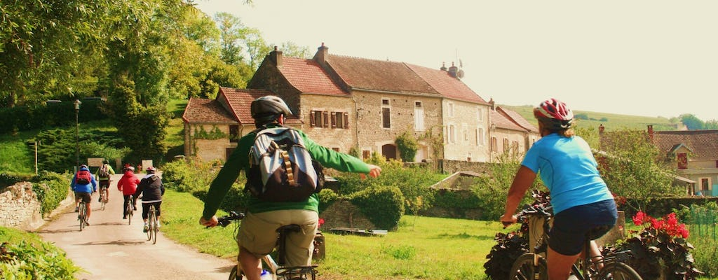Burgundy bike and wine tour