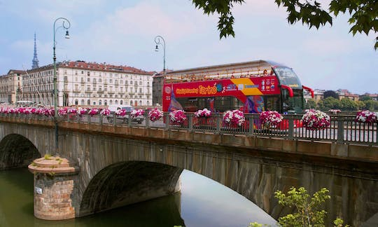 Hop-on hop-off Turin bus 24 and 48-hour tickets