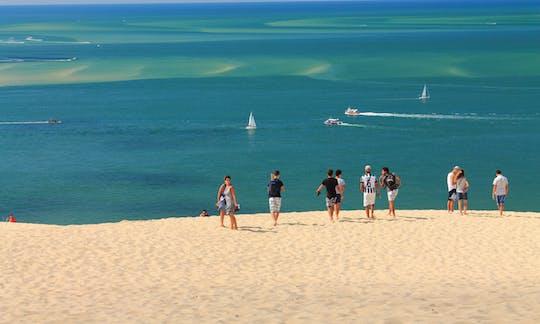 Tour de praias e vinhas de Bordéus