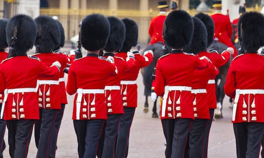 London Changing of the Guard walking tour