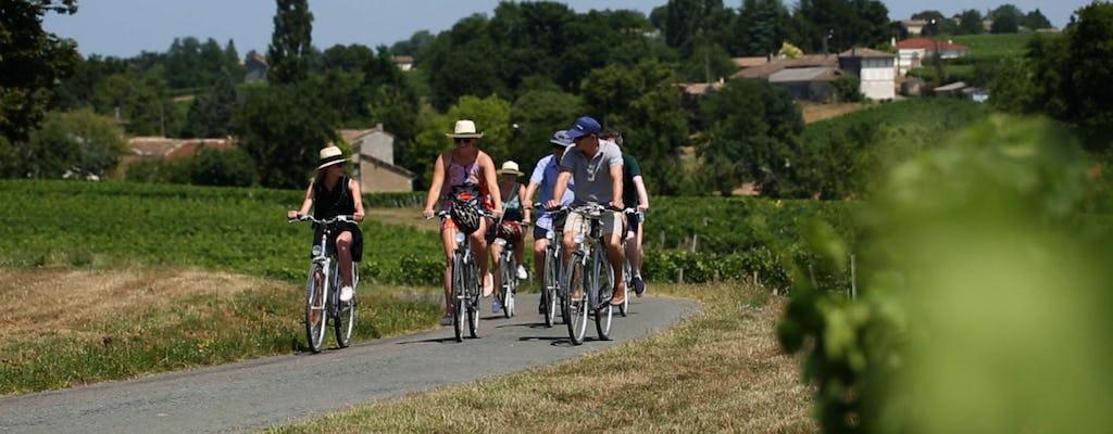 Wine and bike tour to Saint-Emilion