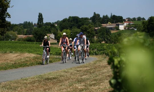 Wine and bike tour to Saint-Emilion