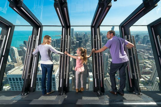 Tickets voor het 360 Chicago observation deck