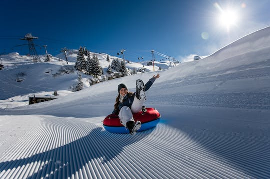 Lucerne and Mount Titlis snow experience from Zurich