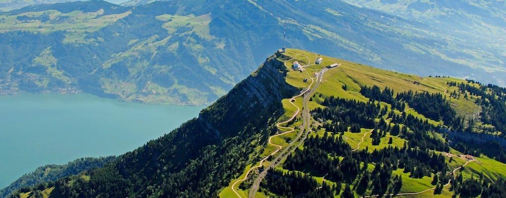 Viagem de um dia do Monte Rigi de Zurique