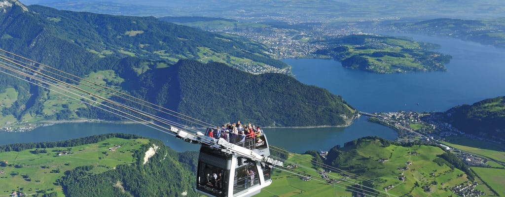 Viagem de um dia para o Monte Stanserhorn de Zurique