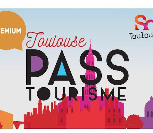 Tarjeta turística de Toulouse