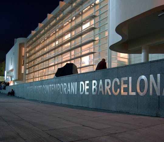 MACBA - Barcelona Museum of Contemporary Art kaarten