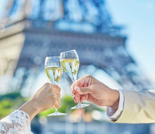 Seine cruise tickets and champagne