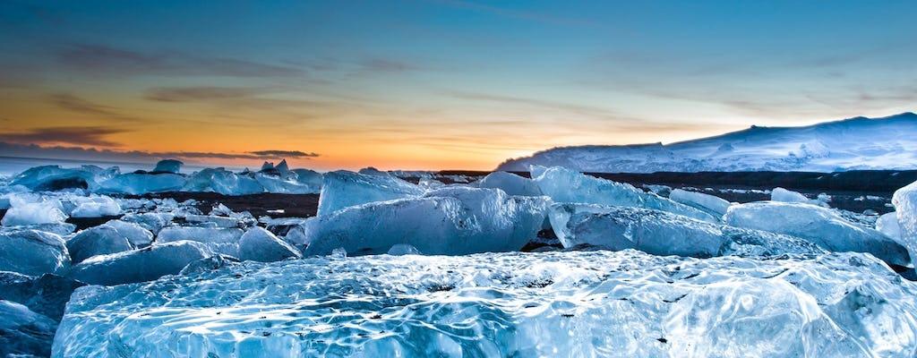 Glacier Lagoon Jökulsárlón tour di un giorno da Reykjavik