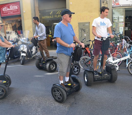 Self-balancing scooter tour of Florence