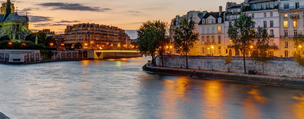 Valentine's Day evening special Eiffel Tower tour with 2nd-floor observation deck and Seine cruise