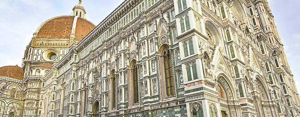 Florence in a day walking tour with Uffizi and Accademia Gallery