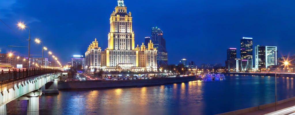 Ruta a pie alternativa de 2 horas por Moscú