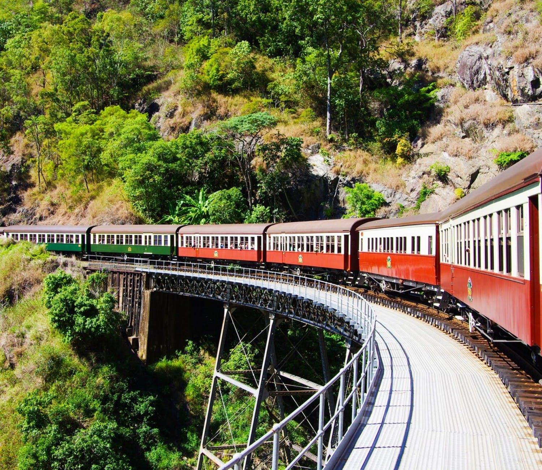 Salir de la ciudad,Excursiones de un día,Excursión a Kuranda,Excursiones desde Cairns