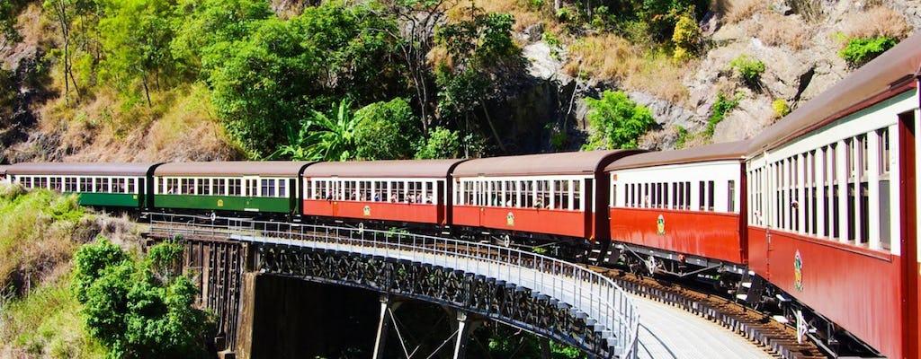 Visit Kuranda with train and skyrail
