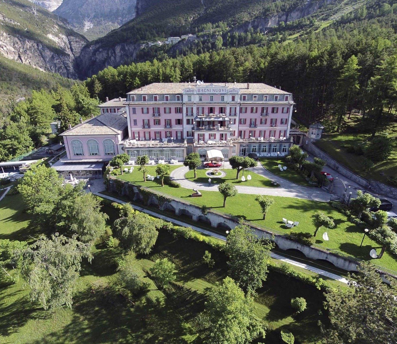 Bagni vecchi e nuovi hotel del cardo stelle superior