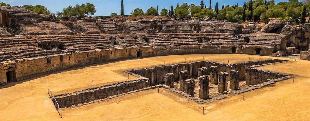 Visita guiada a la antigua ciudad romana de Itálica