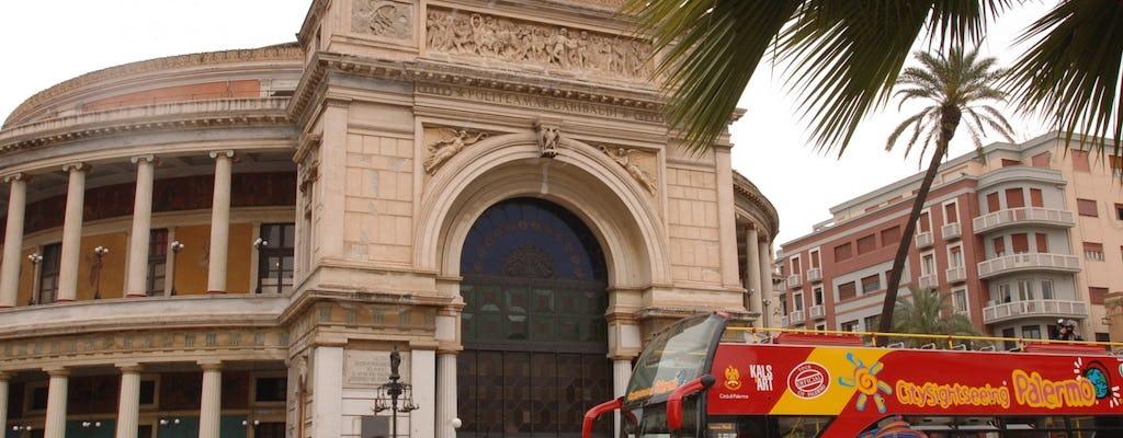 Autobus hop-on hop-off a Palermo, biglietti da 24 ore