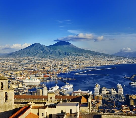 Naples hop-on hop-off bus 24-hour tickets